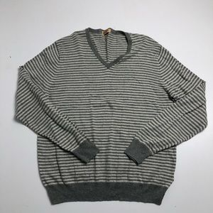 J.Crew Men's Large Long Sleeve Striped Sweater